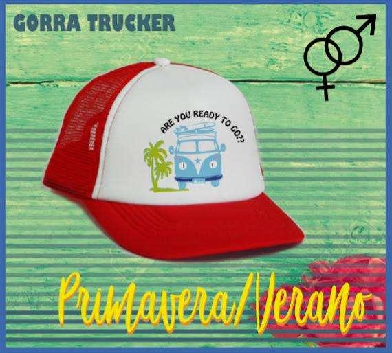 Gorras Trucker Estampas de Verano Oferta