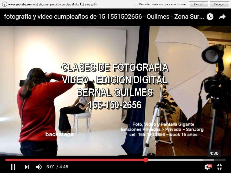 CLASES DE FOTOGRAFIA DIGITAL BERNAL QUILMES 1551502656