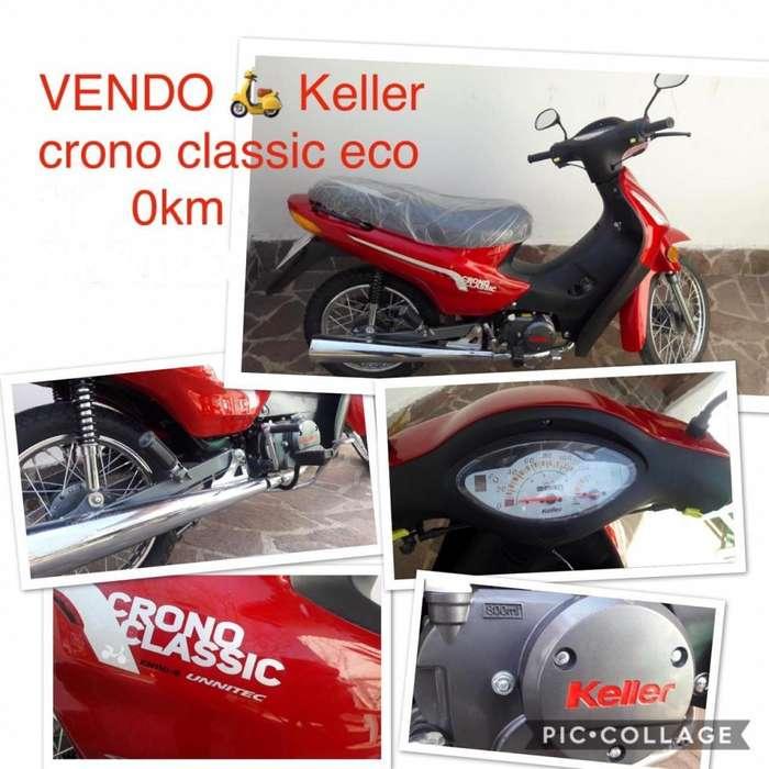 Vendo Moto Keller 110cc Crono Classic 0km
