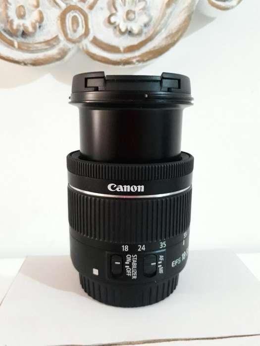 Vendo Lente <strong>canon</strong> Ef S 18-55mm 1: 3.5-5.