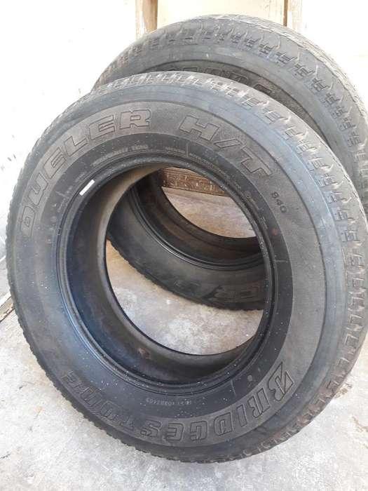 2 Cubiertas Bridgeston Dueler R17