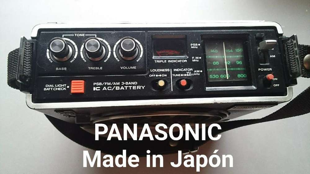 Radio Multibandas Panasonic Psbamfm Ja