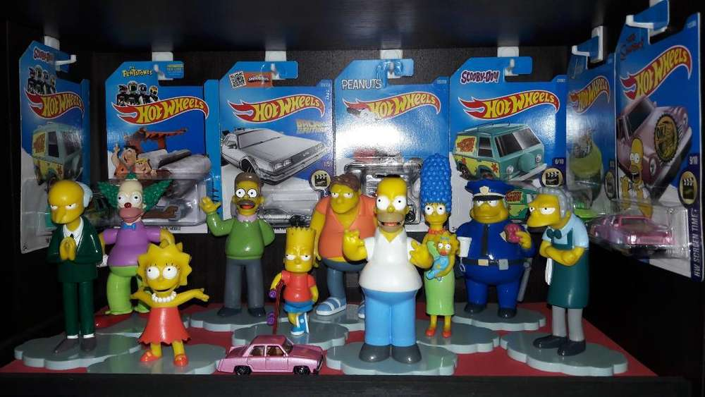 Coleccion Figuras Simpsons