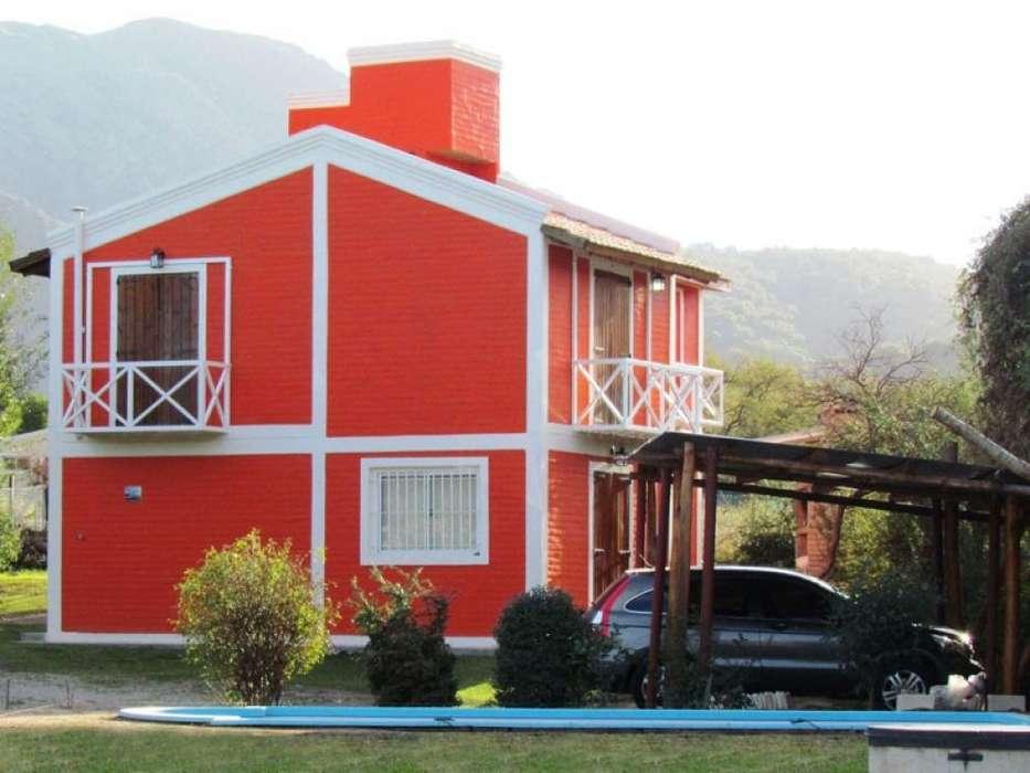st58 - Cabaña para 2 a 6 personas con pileta y cochera en Potrero De Los Funes