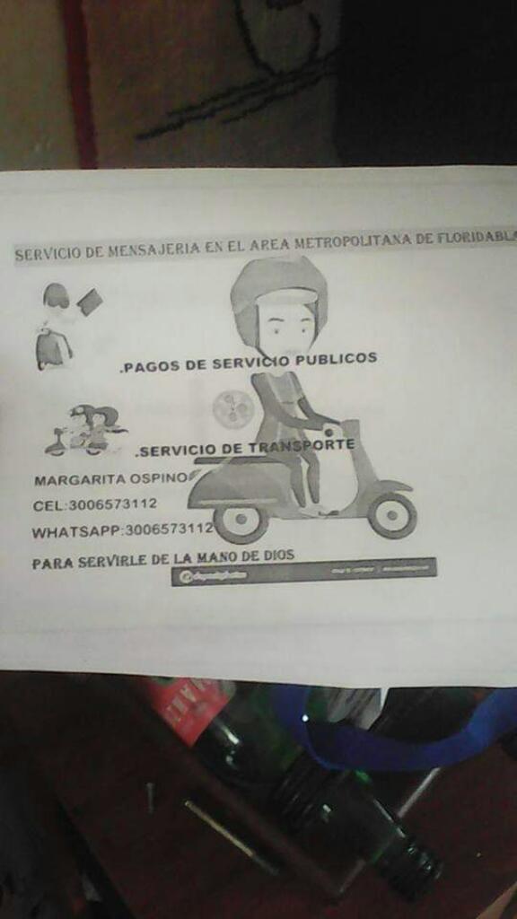 Ofrezco Servicio de Transportar Personal