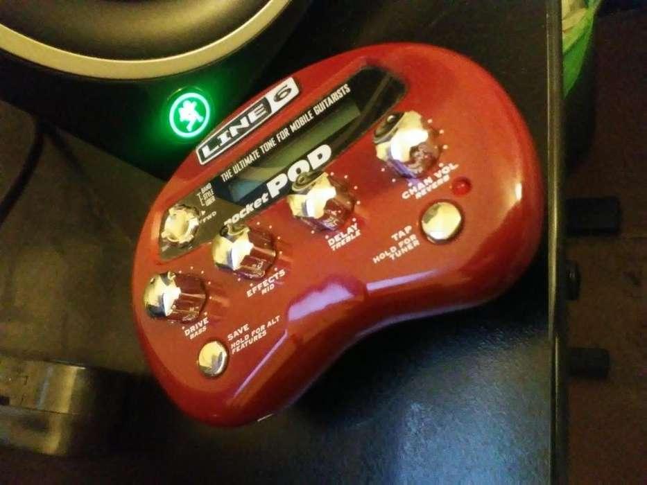 Line6 Pocket POD Procesador de Guitarra