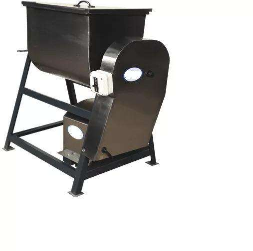 Mezcladora de Carne 100 Litros - FI - Chasis, Eje y Paleta en Acero Inoxidable - NUEVA