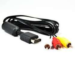 Cable Rca Ps1 Ps2 Ps3 Playstation Consola Audio Video