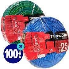 Cable Unipolar Trefilcon 2.5 mm IRAM ISO x 100 mts rollo cerrado