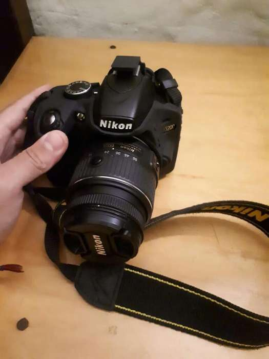 Vendo Cámara Fotográfica Nikon D320