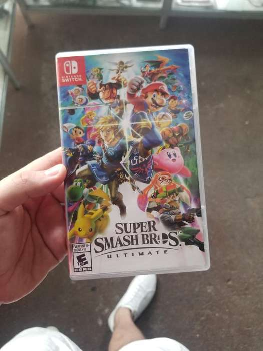 Vendo Smash de Switch Nitido