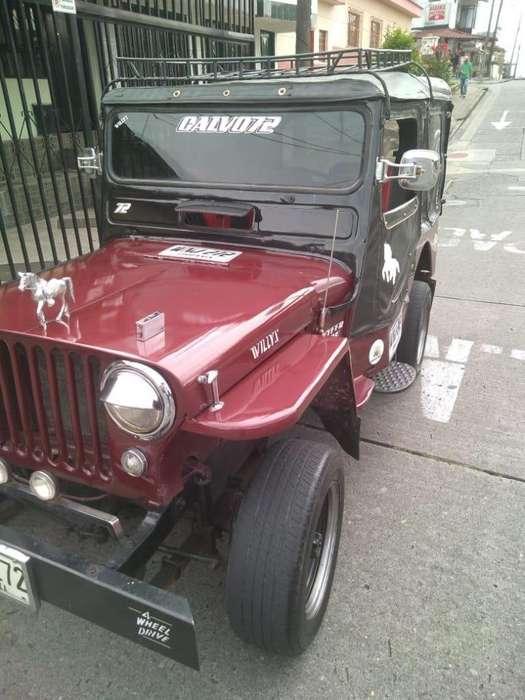 JEEP Willys 1952 - 100000 km