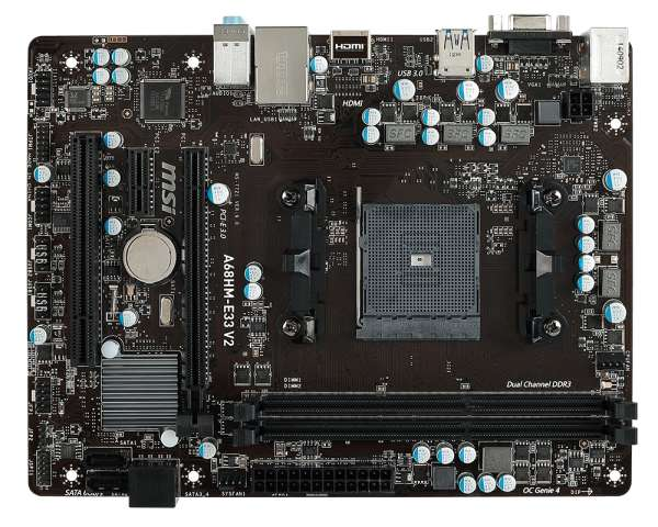 AMD A8 7600 Mother msi 8gb de ram ddr3. Poco uso, perfecto estado.
