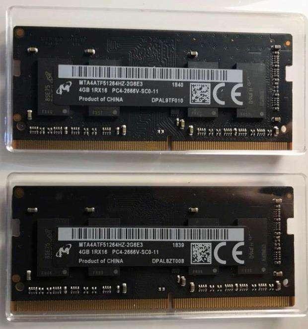 8gb Ram Ddr4 So-dimm 2666mhz Memoria Para Laptop 260 Pines