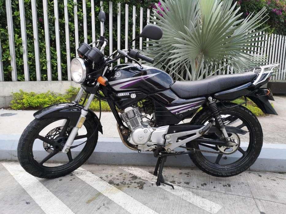 Yamaha Libero 2016 Hermosa Recibo Moto