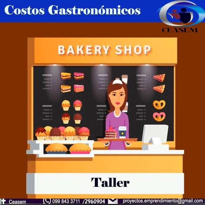 TALLER DE GASTRONOMÍA COSTOS GASTRONÓMICOS