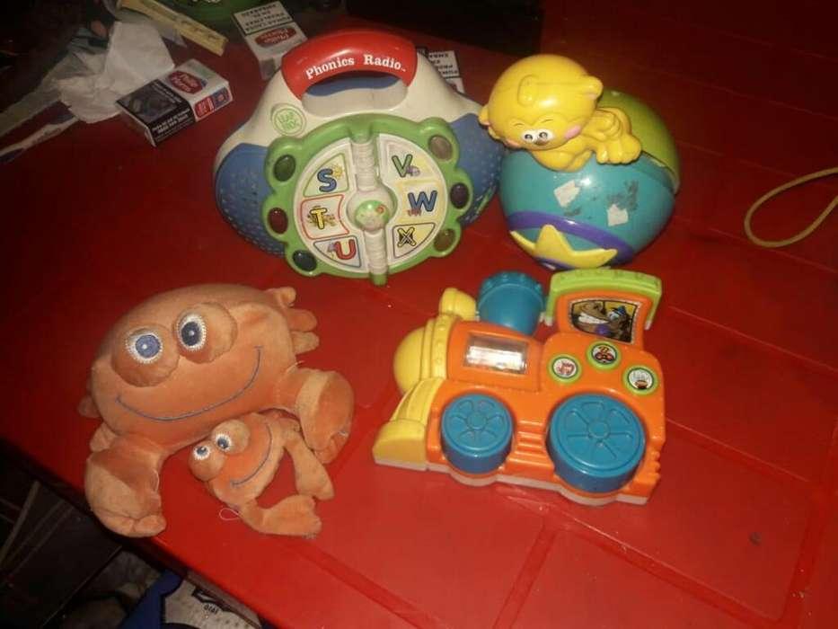 Lote de <strong>juguetes</strong> de Bebe