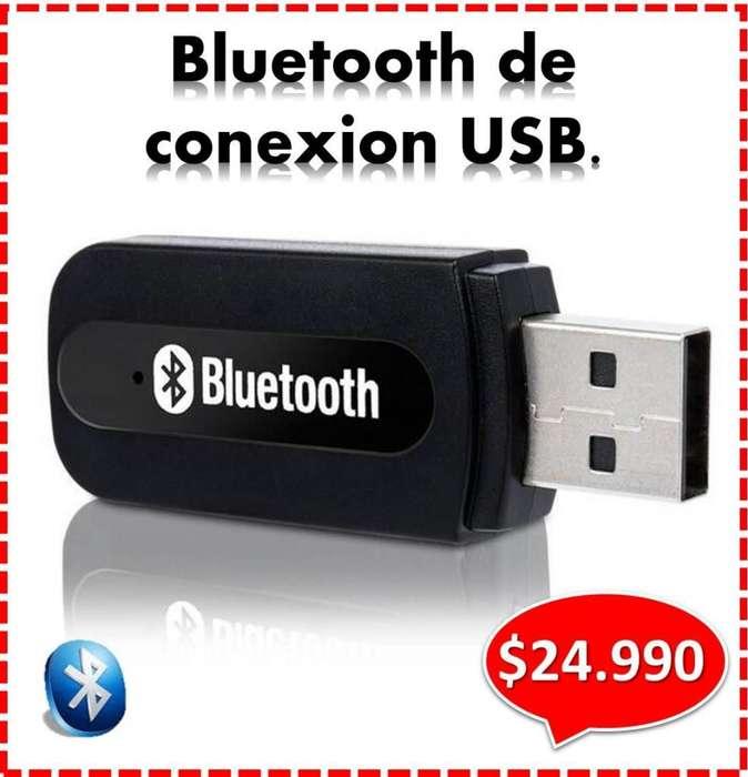 BLUETOOTH DE CONEXION USB PARA RADIO EN VEHICULOS, PARLANTES, ETC. ENTREGA A DOMICILIO. Agregar a favoritos