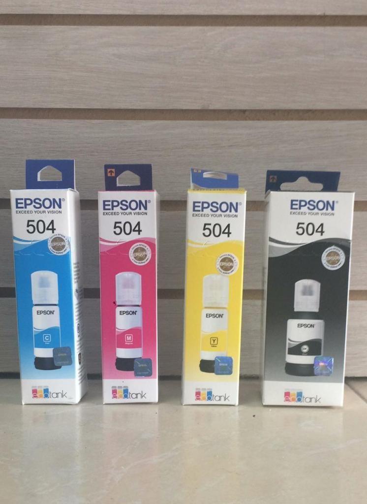 botella de tinta EPSON 504