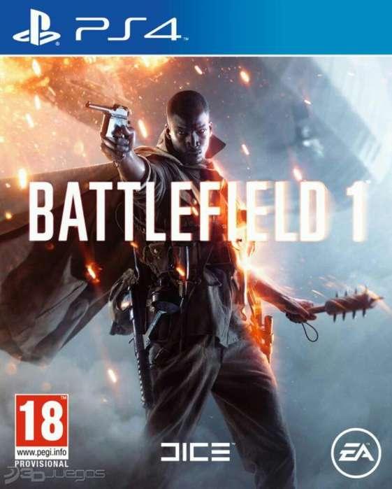 Oferta Battlefield 1 Ps4 Stock Sellado