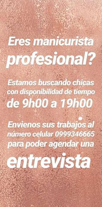 Se Busca Manicuristas Profesional
