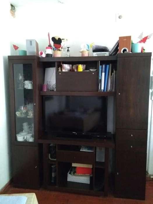 Vendo Mueble de Tv Enchapado en Cedro