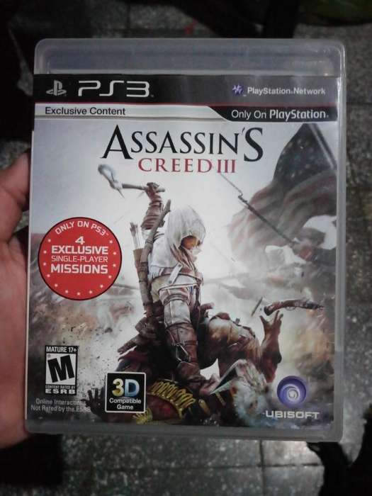 Vendo O Cambio Assassin's Creed Iii