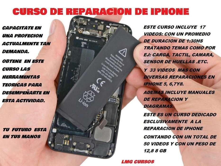 Curso de Reparacion Celulares (iphone )