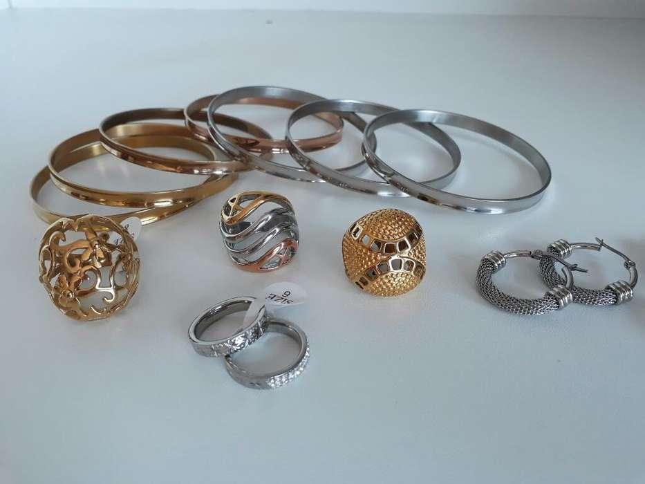 a8639dde14ad Joyas acero quirurgico  Relojes - Joyas - Accesorios en venta en ...
