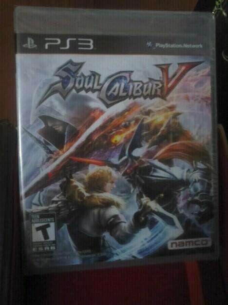 Juego Soul Calibur V PS3 Nuevo!!! Edición Limitada