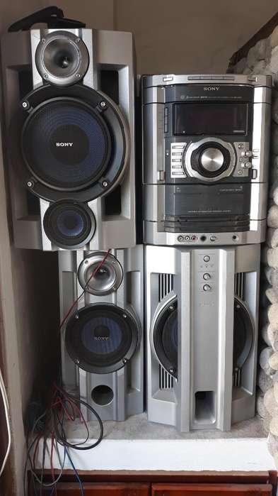 Vendo Equipo Súper Trueno Sony Mhcgn880