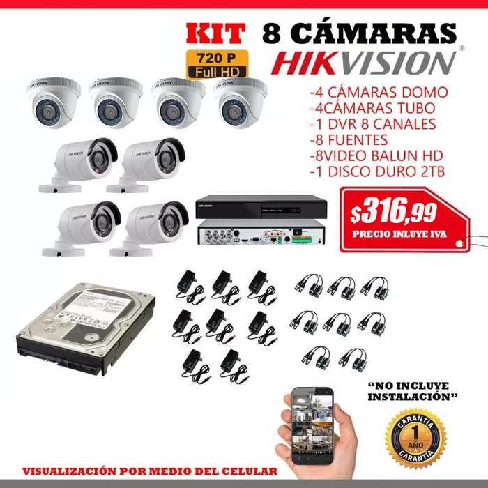 cámaras de seguridad/<strong>video</strong> vigilancia.kit cámaras de seguridad.monitoreo