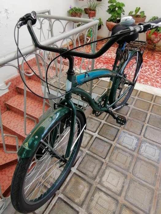 Bicicleta Ontrail con Accesorios Shimano