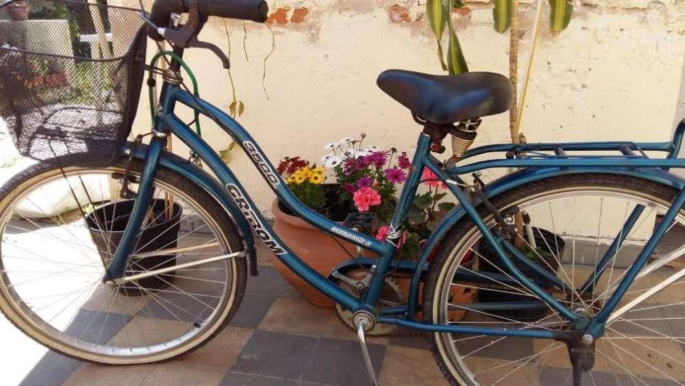 EXCELENTE!!! Bicicleta GRIBOM de paseo llantas de aluminio casi no se uso 6000