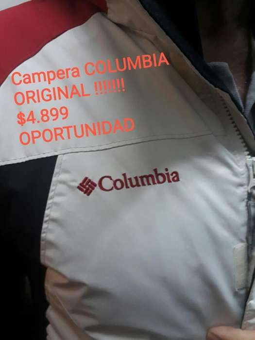 Campera Original Columbia sin Uso