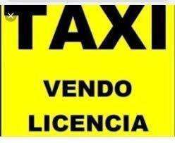 Vendo licencia taxi 2011 capital