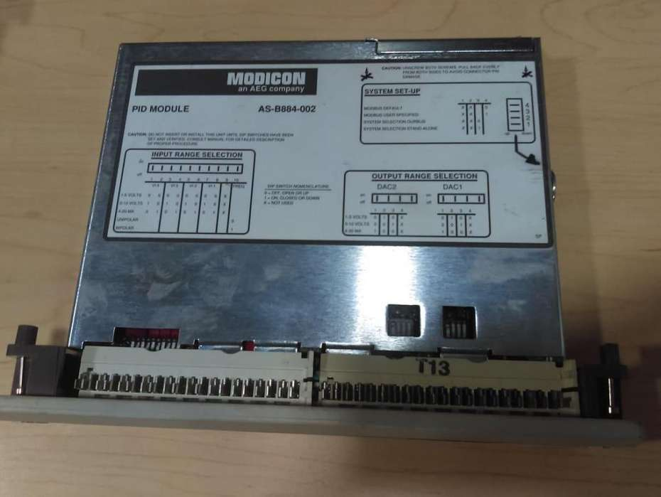 EQUIPO MODICON ESSA-ASB884002-GROUPE SCHNEIDER - INTERFACE (USADO)