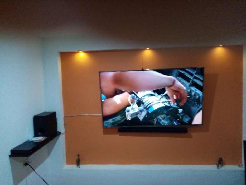tv lg 3d 60 smart. blue ray lg. barra de sonido samsung woofer