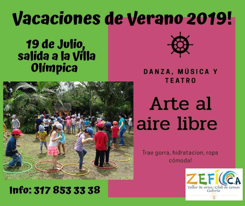 Vacaciones Recreativas en Popayán