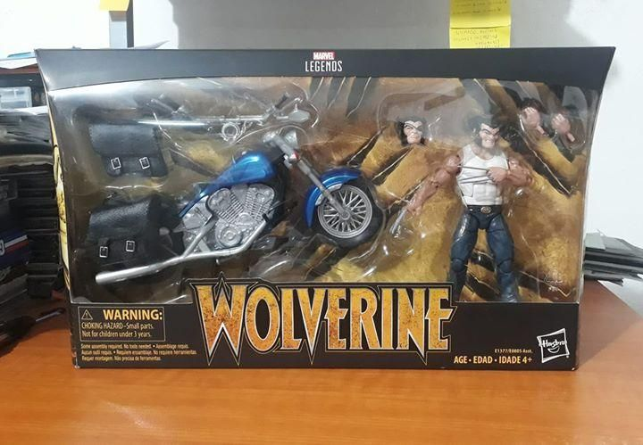 Marvel legends Wolverine Gi joe motu heman dc universe star wars