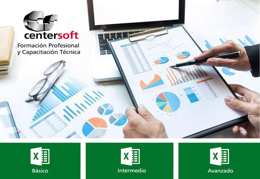 Cursos de Excel: Nivel Básico, Intermedio y Avanzado (Macros)