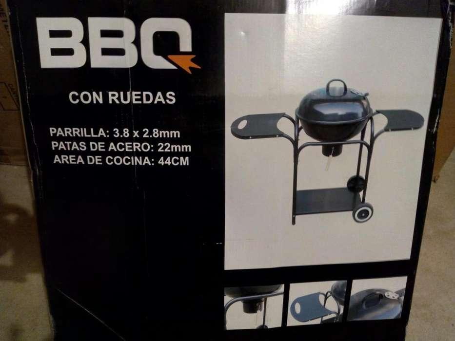 BBQ con ruedas