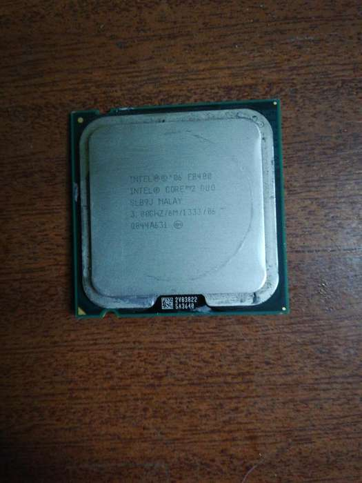Intel Core 2 Dúo E8400 3.0ghz 6 Mb Cache
