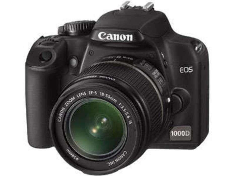 Canon Eos 1000d con 2 Extra Lentes