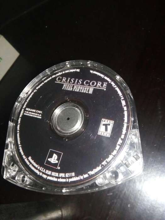 Crisis Core Final Fantasy Psp