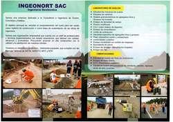 INGEONORT S.A.C. LABORATORIO DE SUELOS, CONCRETO Y PAVIMENTOS
