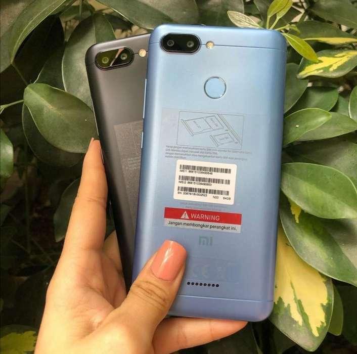 Xiaomi Redmi 6 64gb Nuevos Sellados