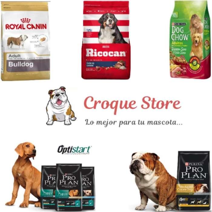 Croquetas Royal Canin, Proplan Y Ricocan