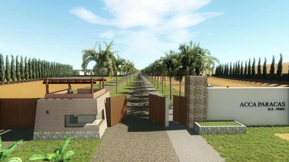 Propietario vende terreno en condominio ACCA - PARACAS 2040 m2