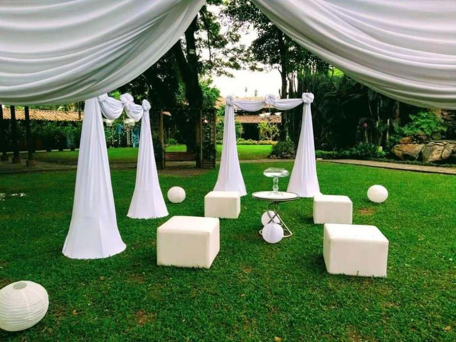 eventos y mobiliarios para matrimonios